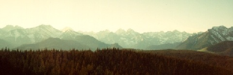 Panorama of the Tatras
